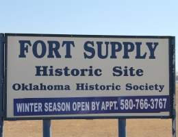 Fort Supply Historic Site